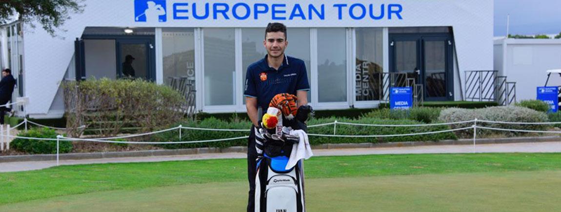 Ivan Cantero Gutierrez, obtiene la tarjeta para el Tour Europeo 2019