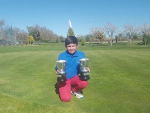 Golf La Cuesta - Sergio Jimenez, se proclama campeón del abierto de Madrid Alevín - Club de Golf La Cuesta