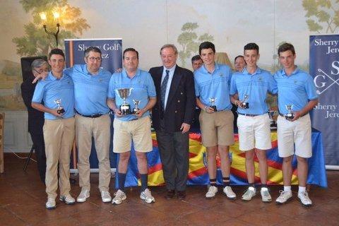 Golf La Cuesta - El equipo Sub-18 Boy FGPA asciende a 1ª Division en Sherry Golf - Club de Golf La Cuesta