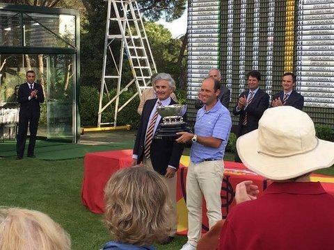 Golf La Cuesta - Miguel Díaz-Negrete Campeón del Campeonato de Puerta de Hierro 2017 - Club de Golf La Cuesta