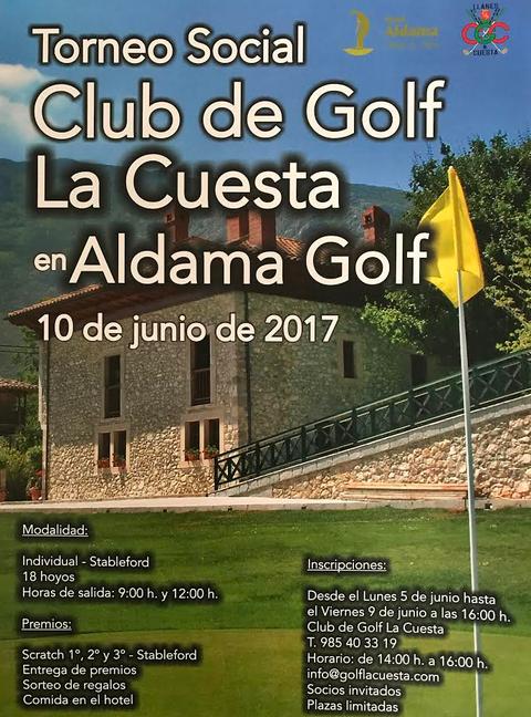 Golf La Cuesta - TORNEO SOCIAL 10 JUNIO EN ALDAMA GOLF - Club de Golf La Cuesta