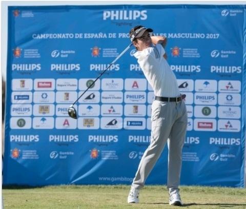 Golf La Cuesta - Ivan Cantero finaliza con exito el Campeonato de España de profesionales 2017 - Club de Golf La Cuesta